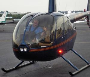 Sonny Perdue on his solo flight