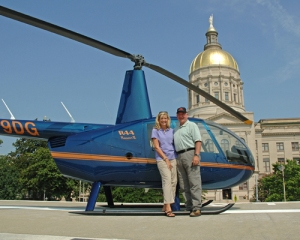 Governor Sonny Perdue and Sheri