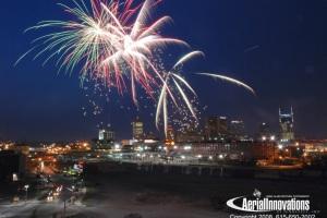 Fireworks over Nashville